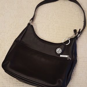 Giani Bernini NWOT Black Leather Bag